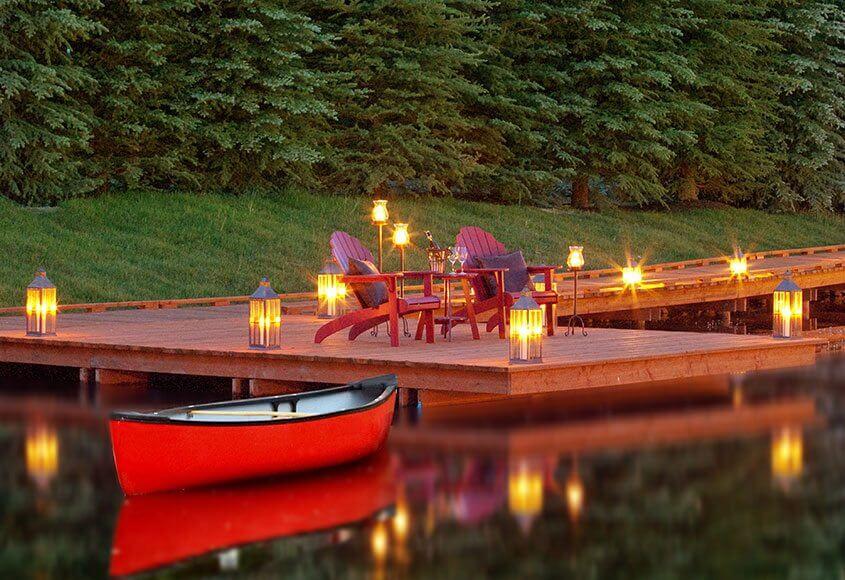 Canoe-Dock