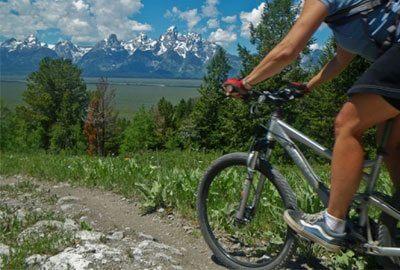 Hotels in Jackson Hole | Rustic Inn Creekside Resort & Spa | Mountain Biking